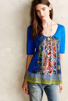 Brilliant Bowknot Tee #Anthropologie
