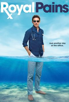 Royal Pains // Show about a doc who reinvents himself unwittingly as a on-call doctor in the Hamptons. Definitely a good break from some of the darker shows! Movies Showing, Movies And Tv Shows, Comedy Tv, Tv Land, Nyc, Great Tv Shows, Me Tv, Tv Times, Classic Tv