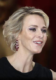 Princess Charlene of Monaco attends the opening ceremony of the 55th Monte-Carlo Television Festival on June 13, 2015, in Monaco.