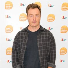 Sixty Seconds with Toby Stephens Stephen Poliakoff, Space Shows, Toby Stephens, Character Bank, B Words, Good Morning Britain, Mission To Mars, Getting A Massage, Men's Day