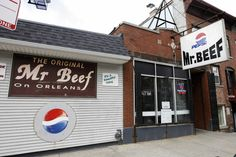Mr. Beef Chicago...the best Italian beef in Chicago I miss this place so so much