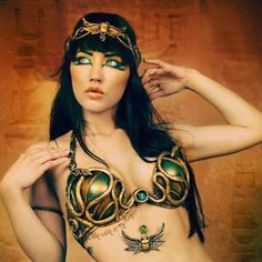 #egyptian Mina #dance set photo by #winterwolfstudios with #erinjade  #bellydance