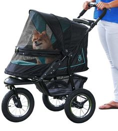 Pet Gear No-Zip NV Pet Stroller, with Zipperless Entry, Sky Line : Pet Carrier Strollers : Pet Supplies Cat Stroller, Jogging Stroller, Cat Cages, Pet Gear, Dog Car Seats, Cat Carrier, Skyline, Buy Pets, Dog Items