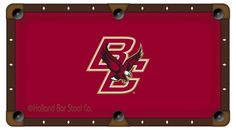Boston College Eagles Pool Table Cloth