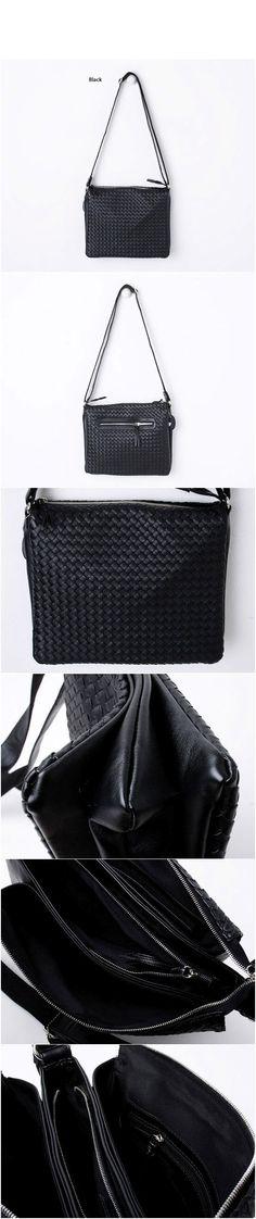 Braided Messenger Cross Body Bag-Bag 13