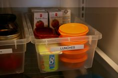 Echoes of Laughter: Back To School Organizing Part 3: 5 Easy Steps To Packing School Lunches