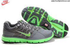 Latest Listing Cheap Mens Nike Lunarglide 2 Stealth Neon Lime Cool Grey Pure Platinum Sports Shoes Store