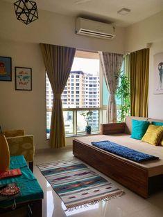 Bedroom Furniture Design, Home Decor Furniture, Home Decor Bedroom, Home Room Design, Home Interior Design, Living Room Designs, India Home Decor, Ethnic Home Decor, Indian Room Decor