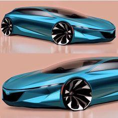 """Gefällt 582 Mal, 2 Kommentare - Designerspen/디자이너 펜 (@designerspen) auf Instagram: """"Honda hatchback By / @neue_ul_i"""""""