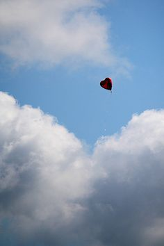 ...we'll see a heart shaped balloon, and wonder if a little girl is crying for it's loss.