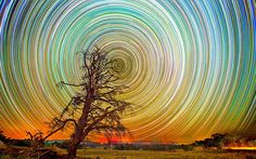 Stars (Long exposure photos by Lincoln Harrison). Wonderful!