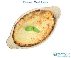 This is a guide about freezer meal ideas. Cooking ahead and freezing meals can be very helpful for your busy schedule.