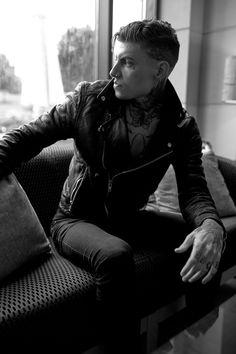 Male Models Tattoo, Cyberpunk Aesthetic, Take Me To Church, Stephen James, Inked Men, Deep Blue Sea, Emo Boys, Character Inspiration, Beautiful Men