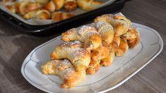 Plné oříškové i tvarohové náplně byly sladké bratislavské rohlíčky, které upekla Zdena Jedličková zOlomouce. Bread Dough Recipe, Baking Videos, Desert Recipes, Amazing Cakes, Shrimp, Sausage, Deserts, Treats, Cooking