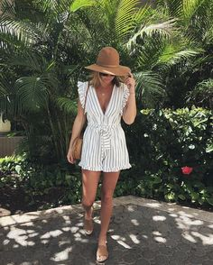 Maui babe @karlidalton in the 'Sunny Garden' Romper.  // Tap the link in bio to shop in the US