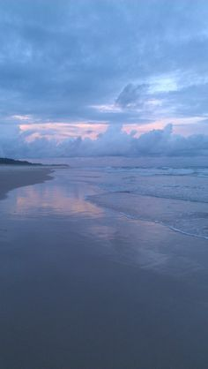 "Sunset walk on Angel's Beach, Ballina, NSW."""