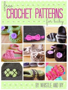 This post makes me really, really, wish I knew how to crochet!! The fabulous Whistle and Ivy is beyond...