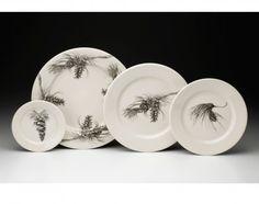 Laura Zindel Design - Dinnerware Set: Pine - Dinnerware Plates - Plates - Dinnerware - Types