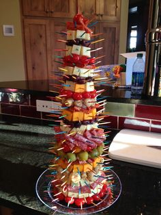 Appetizer Tree. A holiday party conversation starter!