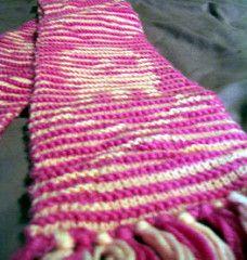 Ravelry: Skull Illusion Scarf pattern by Ysolda Teague Knitting Patterns Free, Knit Patterns, Free Knitting, Knitting Ideas, Free Pattern, Crochet Skull, Knit Crochet, Yarn Crafts, Sewing Crafts