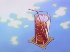 Cute cold drink from Cardcaptor Sakura by morphinelab