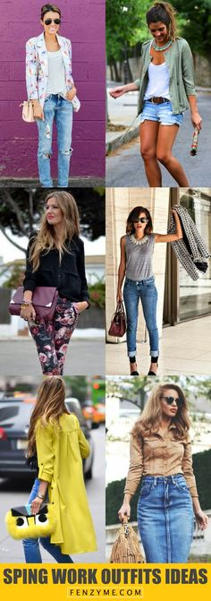 <3 <3 <3 50 Catchy Spring Work Outfits Ideas For 2017 <3 <3 <3