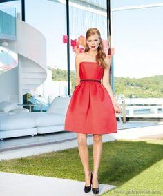 vestidos de fiesta cortos (4) - Gala novias