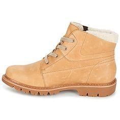 45b1d7b58 Caterpillar FRET FUR Beige - Zapatos Botas de caña baja Mujer 99