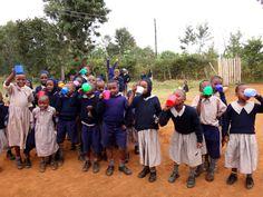 clean drinking water = happy, healthy kids!