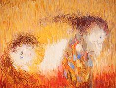 arthur boyd paintings - Google Search Arthur Boyd, Australian Painting, Famous Words, St Francis, Impressionist, Landscape Paintings, Art Gallery, Portrait, Artist