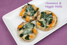 Vegan Hummus & Veggie Melts