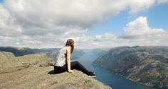 Scenic Lysefjorden, by Veronika Vik #Region Stavanger