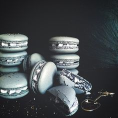 Earl Grey Macarons by The Artful Bakery