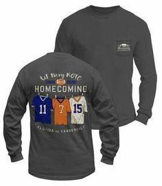 UF Homecoming tshirt| Gators| Homecoming| ROTC| Football