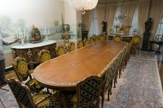 Lot: 20th c Louis XV Baroque Style Dining Table, Lot Number: 0490, Starting Bid: $2,000, Auctioneer: John McInnis Auctioneers, Auction: The Henry D. Audesse Collection-Session 2, Date: July 2nd, 2016 EDT