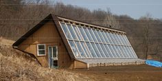 The Behar Greenhouse is a model of passive solar…