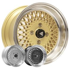 NEW! Enkei 92, Classic Series, 38mm, 4x100, only 14.1 lbs with Machined Lip! SILVER