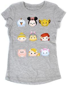 Disney Tsum Tsum Gray T-Shirt