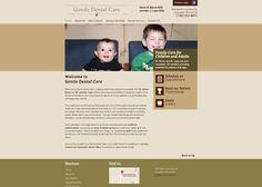 #sesamewebdesign #sds #ravenna #brown #green #responsive #dental #sans