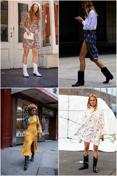 How to Wear Cowboy Boots 10 Ways - The Effortless Chic