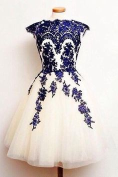 Homecoming Dresses Lace, Homecoming Dresses 2018, Cute Homecoming Dresses, Homecoming Dresses Cheap, Navy Homecoming Dresses, Homecoming Dresses Short #Homecoming #Dresses #2018 #Navy #Cute #Cheap #Short #Lace