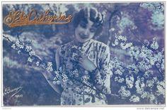 "Carte Postale Ancienne ""Catherine"" France 1932."