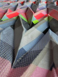 Textile innovation by Angharad McLaren