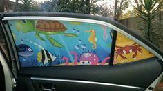 Magic Mesh car shade