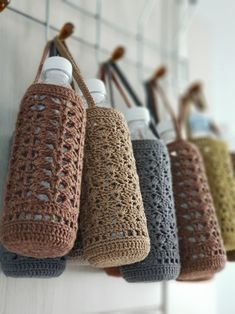 Crochet Home, Crochet Gifts, Diy Crochet, Macrame Patterns, Knitting Patterns, Crochet Patterns, Loom Patterns, Yarn Crafts, Sewing Crafts