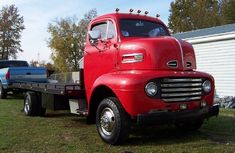 Ford 1948 F5 COE Truck the ultimate car hauler