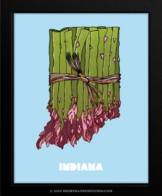 no real interest in Indiana (sorry!) but this print is so cute