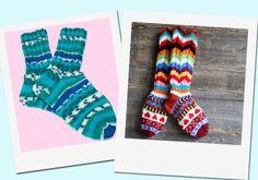 Lukijoiden tekemiä villasukkia kuvagalleria: http://www.kodinkuvalehti.fi/galleria/195/suuri_kasityo_itse_tehtyja_villasukkia