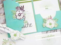 Geburtstagskarte Einfach wunderbar Blumen Stampin Up 2018