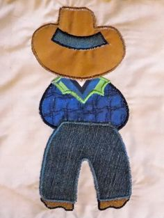 Cowboy Up, Cowboy Sam Appliqué SET 5x7 Machine Embroidery Design Instant Download